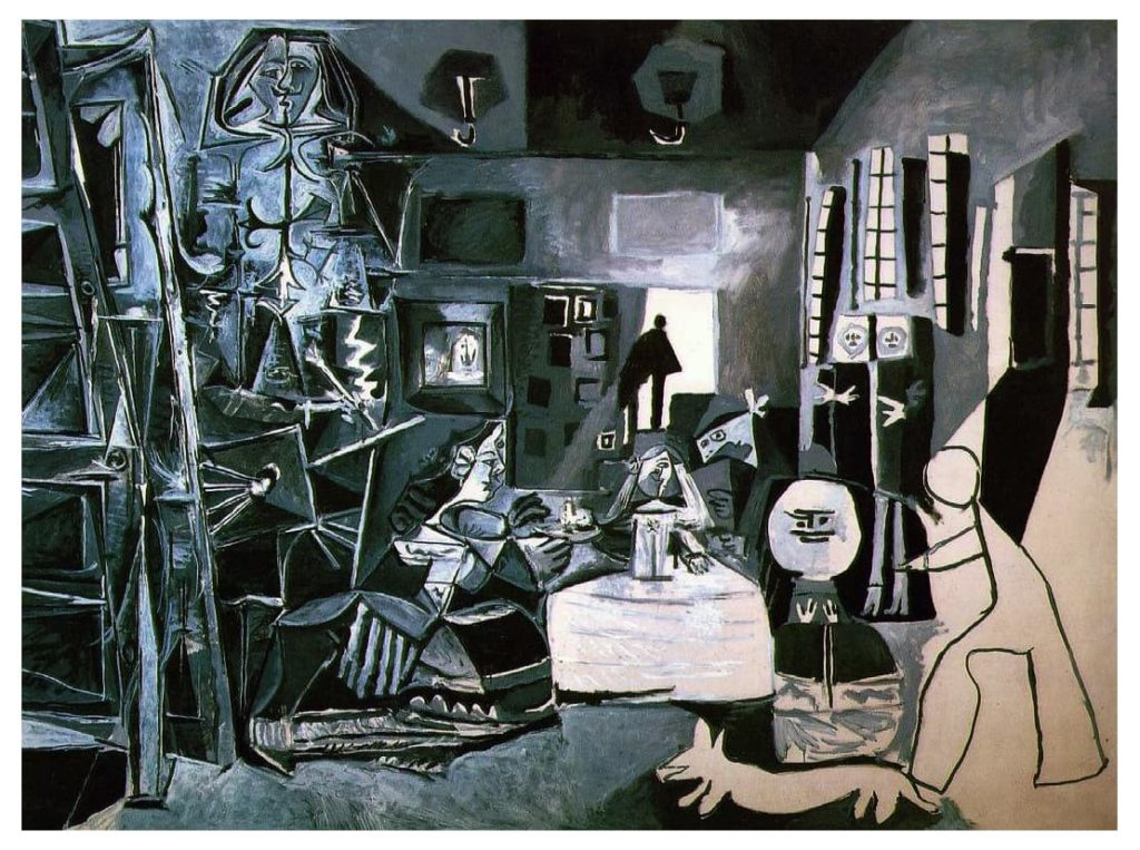 Pablo Picasso, Las Meninas, da Velázquez, dipinti a olio su tela, 1957 (Barcelona, Museu Picasso)
